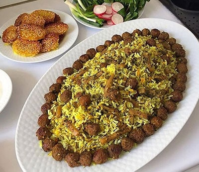 طرز تهیه کلم پلو شیرازی خوشمزه و لذیذ با دستوری راحت