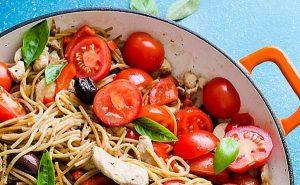 طرز تهیه اسپاگتی مرغ بی نظیر و خوشمزه و عالی
