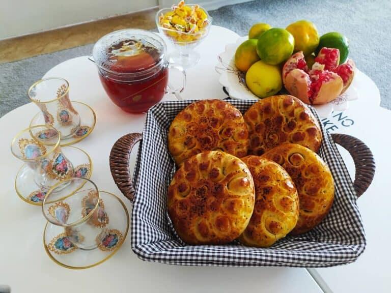 طرز تهیه کلوچه فومن خانگی اصل خوشمزه و آموزش مواد میانی کلوچه