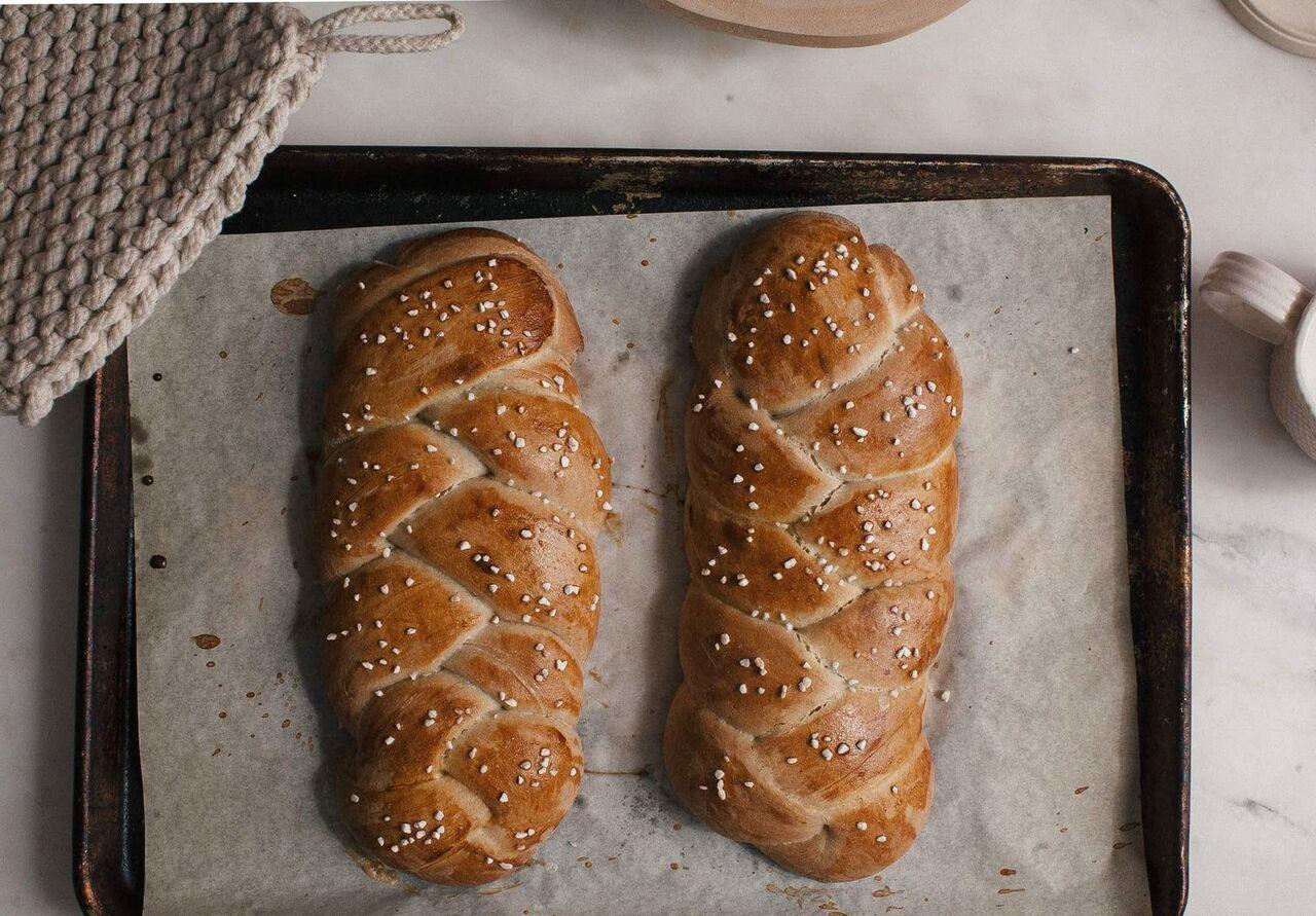 آموزش طرز تهیه نان شیرمال در خانه, نان خوش عطر و طعم