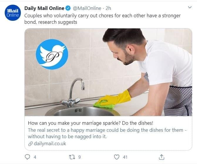 خوشبختی با شستن ظرفها