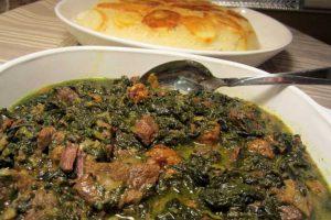 طرز پخت خورش اسپناساک، غذای خوشمزه ی مازندرانی/آموزش آشپزی