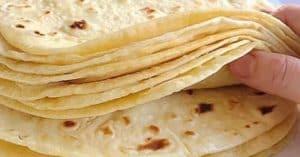 طرز تهیه نان ترتیلا خانگی با آرد ذرت و آرد گندم مرحله به مرحله/تایم آرامش