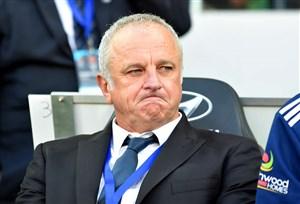 واکنش سرمربی تیم فوتبال استرالیا در مقابل تیم ملی ایران