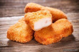 دستور تهیه ناگت مرغ خانگی خوشمزه