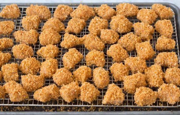 آموزش و دستور پخت ناگت مرغ رستورانی در فر