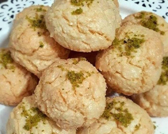 آموزش و دستور پخت شیرینی نارگیلی
