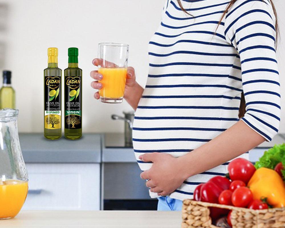 مضرات روغن زیتون در بارداری