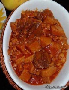 آموزش و دستور پخت خورش به اصفهانی