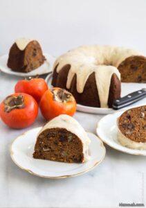 آموزش و طرز تهیه کیک خرمالو